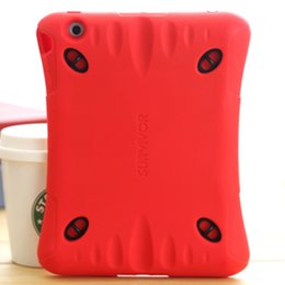 Wholesale Children Kids Baby Safe Soft EVA Light Foam Weight ShockProof Cover Case With sports straps For iPad Air Mini