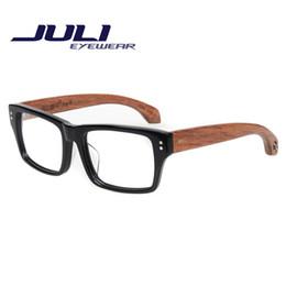 Wood Reading Glasses Men New Brand Design Eyeglasses Frame Oculos De Grau Femininos Glasses Women Bamboo Computer Goggles 7226C