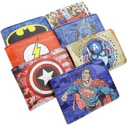Wholesale Marvel Comics Portefeuille Superhero Bailini Portefeuille Hommes Portefeuilles Minces Portefeuille Femmes Mini Portefeuille Baelerry Mimco Porte monnaie Livraison gratuite