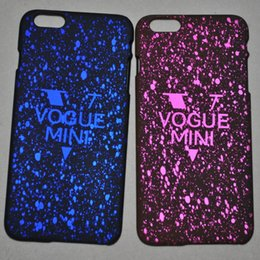 Wholesale Star Apple Case iPhone s s plus Grind Arenaceous Starry Sky Plastic Back Cover Deep Space Stars Cellphone Protective Shell