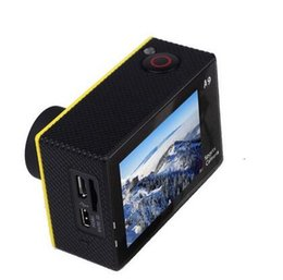 Wholesale sjcam SJ4000 style A9 Inch LCD Screen P Full HD Action Camera Waterproof Camcorders SJcam best Sport DV Car DVR by DHL