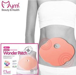 Wholesale 5000pcs Korea Belly Wing Mymi Wonder Treatment Reduce Weight Fat Burning Loss Weight Slimming Body Patch