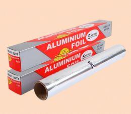 Wholesale Panas menjual cm m aluminium Foil kertas Barbecue BBQ kue memasak Foil makanan kemasan minyak dapur aluminium Foil