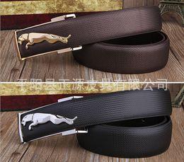 2018 Fashion Wholesale-Factory direct wholesale leather jaguar belt leopard belt gogo agio