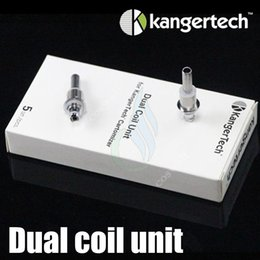 Upgraded Dual Coils For Kanger Aerotank mega mini protank 3 T3D EVOD 2 glass dual coil rebuildable atomizers clearomizers SubOHM coil head