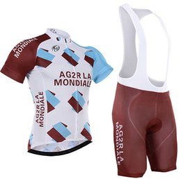 2016 AG2R Tour De France cycling jersey Quick Dry bicycle jersey cycling bibs set whit gel pad gel free shipping