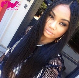 Promotion!2018 New arrival Brazilian Full Lace Human Hair Wigs Lace Front Wig Natural Straight Wigs for Black Women Wholesale Price