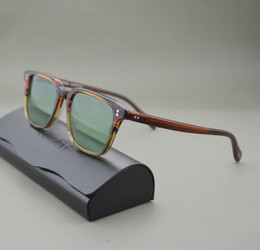 Wholesale Best price high quality Oliver peoples NDG sunglasses man and women unisex sunglasses vintage sunglasses with colored
