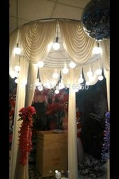 Wholesale NEW Wedding props Welcome to decorate the wedding stage area droplight decoration