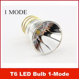 Wholesale UltraFire Flashlight CREE T6 Mode Lm Lamp LED Bulb White Light Torch Replacement For WF B WF B