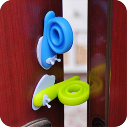 Wholesale door stopper child safety snail Door stop For Children Kids baby safety door stopper gurad door lock CYB48