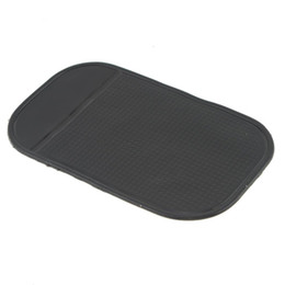 Wholesale Black Car Dashboard Sticky Pad Silica Gel Magic Sticky Pad Holder Anti Slip Mat For Car Mobile Phone Car Accessories
