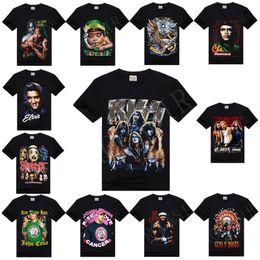 Wholesale w151231 RockSir Cotton T shirt wrestlers John Guns N Roses Slipknot Che Guevara baby Rasta Printed rock D T Shirt For Men Camisa