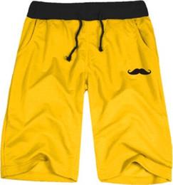 Parodia divertida en Línea-Los pantalones cortos divertidos de la mezcla del algodón de los cortocircuitos del Mens / de las mujeres del bigote de la falsificación de las nuevas llegadas del envío libre cortan tamaño: xxs-4XL