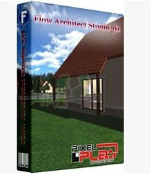 Wholesale Architectural D simulation design software Pixelplan Flow Architect Studio D v1 in English