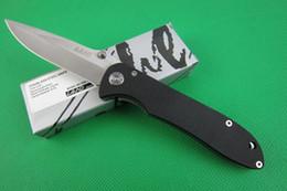 Wholesale LAND SANRENMU GB902 pocket folding blade G10 Handle HRC Blade Camping Tactical knife sharp gear tool