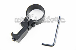 "1"" & 25.4mm Offset Ring Flashlight Light Laser 20mm & 7 8"" Weaver Picatinny Rail Mount"
