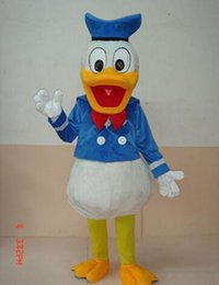 Wholesale 2016 brand new Mascot mushroomstreet Happy Donald Duck or Daisy Adult Mascot Costume FOR ONLY ONE