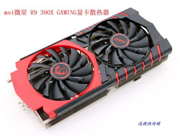 Original for MSI R9 390X GAMING VGA cooler with breathing light fan with heat sink