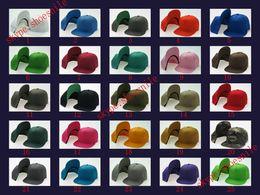 Wholesale Hot plain Blank Hat New Hot Snapback Solid Hats Baseball Caps Football Caps Adjustable basketball Cheap cap Fshion quality