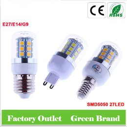 SMD5050 24LED 48LED 69LED Corn Lamp E27 E14 G9 AC85-220V 5W 6W 8W LED Corn Bulb Light For Pendant Lighting