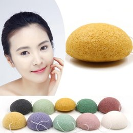 Wholesale Konjac Sponge Activated Bamboo Charcoal Facial Cleansing amp Exfoliating Beauty Sponges