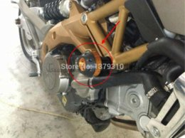 Wholesale For APRILIA DORSODURO Frame Sliders Crash Protector pad Motorcycle accessories parts motor bike Anti falling ball