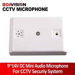 Wholesale Preamplifier m2 Adjustable Mic Audio Microphone for CCTV Security Surveillance Camera DVR