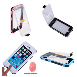 Wholesale Luxury Best Waterproof Professional Good Quality Shock Proof Touch ID Stand For iPhone Plus inch Fingerprint Case Cover