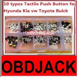 Wholesale 2016 Best types Tactile Push Button Switch Car Keys Remote Key Button Microswitch For Hyunda Kia vw Toyota Buick