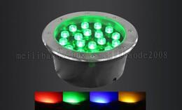 Wholesale 3W W W W W W W W LED Underground Light Waterproof White Warm White Color Change RGB V V Ourdoor Square Garden LLWA044