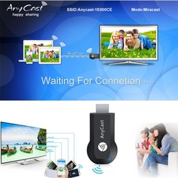 Wholesale AnyCast M2 Plus Mini Wi Fi Display TV Dongle Receiver P Airmirror DLNA Airplay Miracast Easy Sharing HDMI TV stick for HDTV