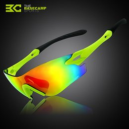 Wholesale Basecamp New Hot Sale Sport Sunglasses Fashion Men Women Riding Outdoor Glasses High Quality UV400 Cycling Glasses BC