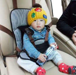 Wholesale New Child car safety seats kid baby interior accessories dark blue and pink color for age
