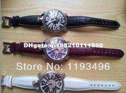 Wholesale newFree Shiping Ladygaga Unisex Table Manual Chain Fashion Big Dial Watch Full Series of Fashion Watch Luxury g1