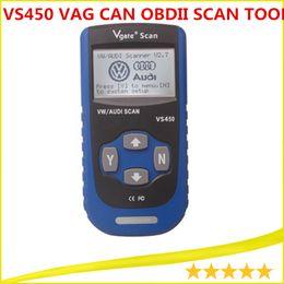 Wholesale Vgate Scan VS450 VW Seat Skoda Fault Code Reader Scanner Engine ABS AIR BAG