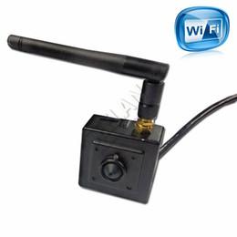 Wireless 720P Onvif HD Wifi IP Camera P2P Plug Play Camera for 3.7mm pinhole lens Hi3518E
