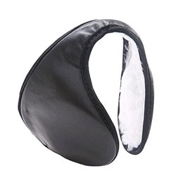 Wholesale-Hotsale Men' Women's Ear Muffs Winter Ear Warmers Plush Earwarmer Behind The Head Band 73L3
