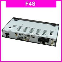 Wholesale 10Pcs F4S FTA HD DVB S2 TV Receiver Set Top Box best F5S w Cccamd Scart AV GPRS CA Youporn Youtube