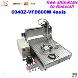 Wholesale woodworking machines from china LY Z VFD800W axis cnc metal marble used machinery to Russia free tax
