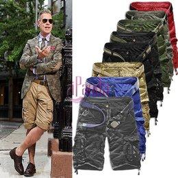 Wholesale Sport Camo Cargo Pants - Wholesale-2016 Men Casual Army Cargo Combat Camo Camouflage Sports Pants #69960