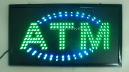 Wholesale 2016 Direct selling LED ATM ROOM sign LED sign Electronic billboards in semi outdoor size cm
