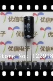Wholesale Free shiping uF V mm C Radial Electrolytic Capacitor