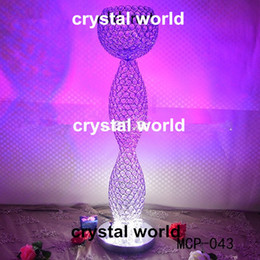 crystal ball centerpiece for wedding event decor