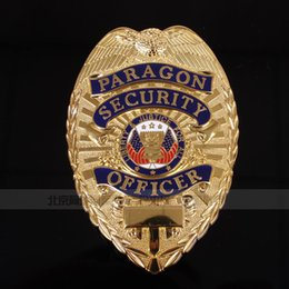 Wholesale The White House guards badges of the US version of the golden badge of PARAGON alloy