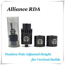 Wholesale Alliance RDA Tank Clone mm Dripping Atomizer Stainless Steel Peek Insulator DIY Ecigarette Vaporizer RDA Kit