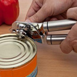 Wholesale Stainless Steel Canned Food Tin Opener Multi functional Beverages LIDS Beer Caps Jar Bottle Opener Tool Home Kitchen Utensils