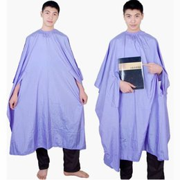 New Hair Cutting Cape Salon Hairdressing Cape With Pocket Nylon Fabric Waterproof Black Purple White Color Mixed Order DHL Free Shipment