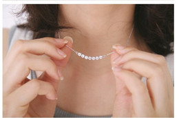 Wholesale Single Rhinestone Necklace - Top Elegant Jewelry Fashion Girl Single Crystal Row Pendant Necklace&Smile Little Star Necklace For Women 2014 Drop Shipping [JN06231*12]