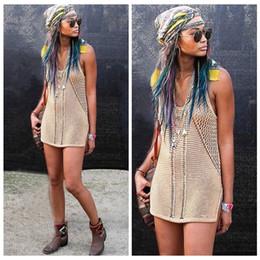 Sexy Spaghetti Straps Swimwear Cover Hips Beachwear Beach Bikini Cover Ups Crochet Beach Dress Swim Cover Up 2015 Hollow Out Cover Ups